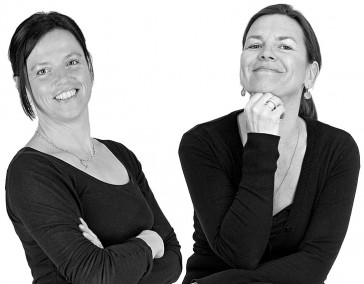 Eva Itzel und Uta Menner