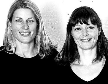 Tina Kammer  und Andrea Herold