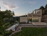 Architektur Fotografie Abendaufnahme Haus in ROUX