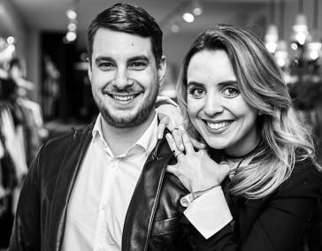Jérôme und  Ines Schramm