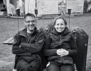 Martin Rost  und Christina Rist
