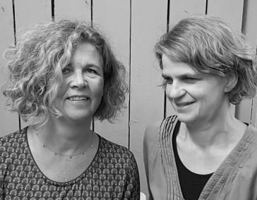 Susanne Raffel und Brigitte Matthes-Uetz